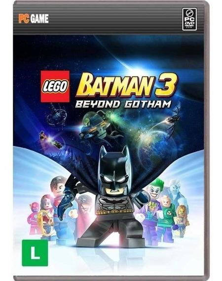 Jogo Lego Batman3 Beyond Gotham Pc *novo*