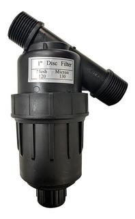 Filtro Anillas Riego Goteo Aspersion 1 PuLG Desarmable Cuota