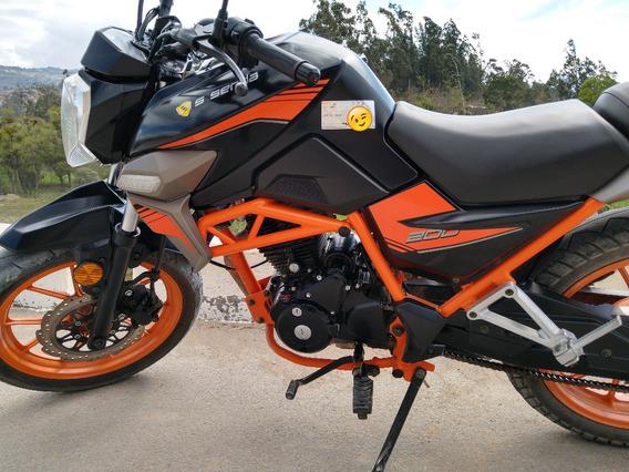 Remato Moto Ssenda Viper 200 Dkr