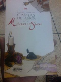 Cartasde Amor Bolivar Manuela Saenz Ilustrado