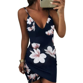 Mini Vestido Drapeado Florido Flores Sexy Alcinha
