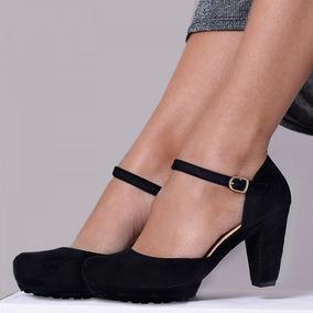 342cdee1a6 Sapato Boneca Meia Pata Feminino - Sapatos no Mercado Livre Brasil