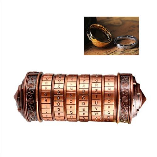 Imagen 1 de 6 de Código Juguetes Cerraduras De Metal Cryptex Regalos De Boda