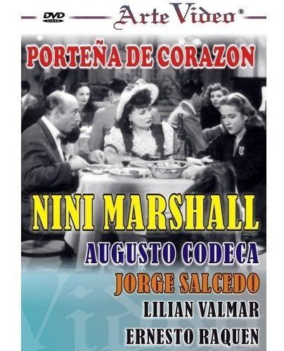 Porteña De Corazón - Nini Marshall - A. Codecá- Dvd Original