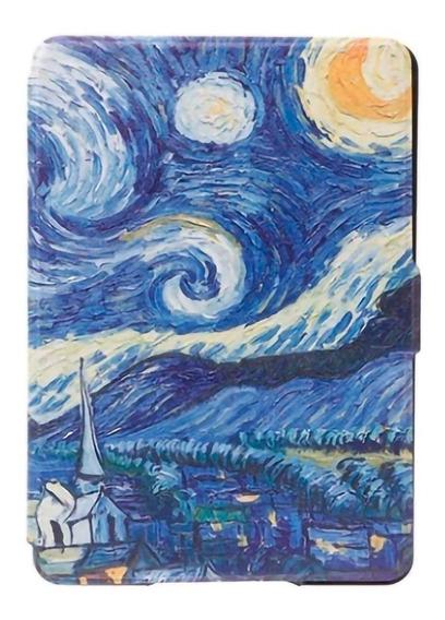 Capa Case Novo Kindle Paperwhite (10ªg) Van Gogh + Película