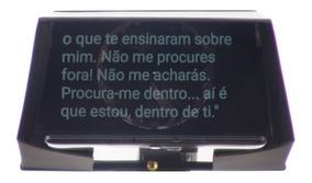 Eyeview-x Teleprompter Com Pedal Remoto E Suporte Celular