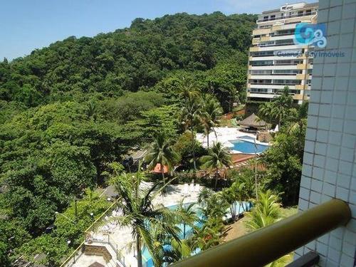 Imagem 1 de 30 de Apartamento A Venda Condomínio Sorocotuba - Praia De Pernambuco - Guarujá - Ap4727