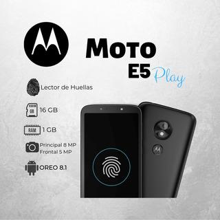 Motorola E5 Play Lector De Huella 1 Gb Ram Tienda Fisica