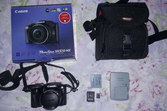 Máquina Fotográfica Canon Sx510hs