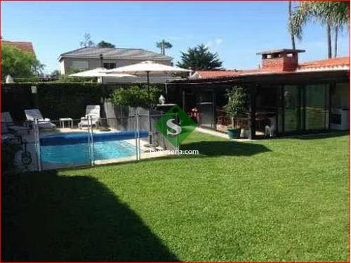 Venta De Casa En San Rafael, 5 Dormitorios, 4 Baños, Piscina, Lindo Parque.- Ref: 168149