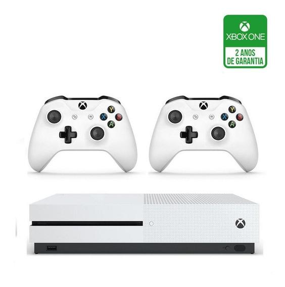 Xbox One S Branco 2 Controles