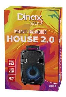 Parlante Portátil Bluetooth Inalámbrico Dinax House 2.0