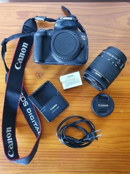 Canon Eos T5i + Lente 18-55 Mm + Acessórios - Poucos Cliques