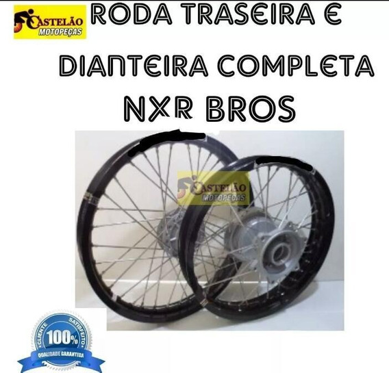 Aro Roda Montada Nxr 125-150 Bros Aros Alumínio Par