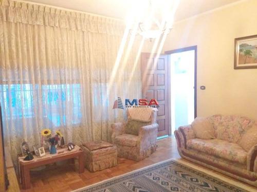 Imagem 1 de 25 de Casa Térrea À Venda Em Perdizes, Com 300,00 M² At, Com 3 Dormitórios (1 Suíte), 2 Vagas E Quintal - Ca0884