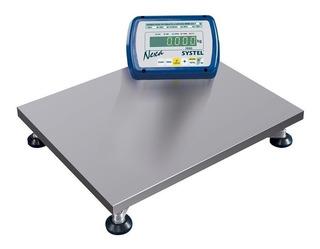 Balanza industrial digital Systel Nexa 150 kg 110V/220V plateado