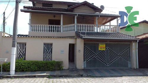 Sobrado Com 4 Dormitórios À Venda, 310 M² Por R$ 650.000 - Jardim Santa Maria - Jacareí/sp - So0055