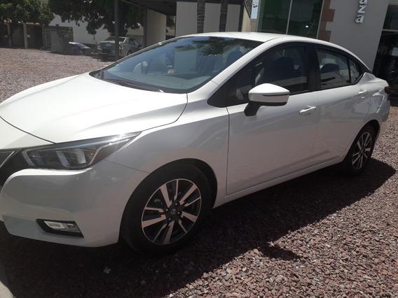 Nissan Versa Advance 2020 Blanco Aut