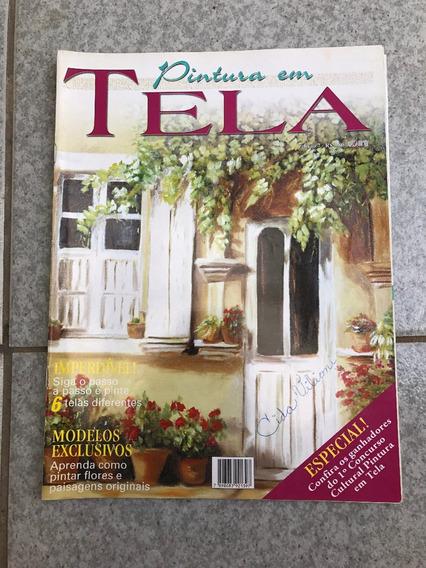 Revista Pintura Em Tela 7 Modelos Exclusivos 6 Telas E046