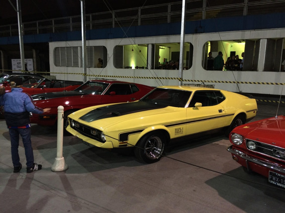 Mustang Mach 1 1972 Cleveland 351 V8 Amarelo 1972 0km