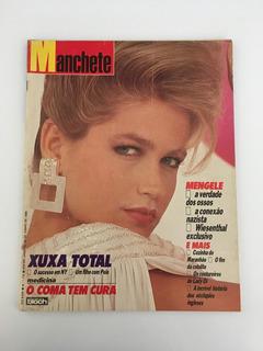 Revista Manchete Xuxa Pelé Lady Di - 29 Junho 1985 Nº 1732