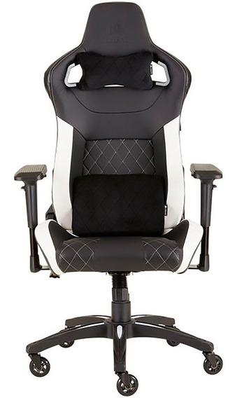 Cadeira Gamer Corsair Até 120kg Cf-9010012-ww Preta/branca