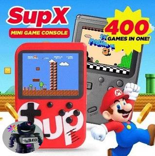 Super Game Box Portátil Consola Videojuegos Retro 400 Juegos