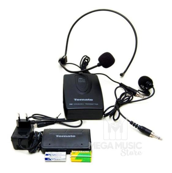 Microfone Lapela Sem Fio Profissional Wireless Headset 50 Mt