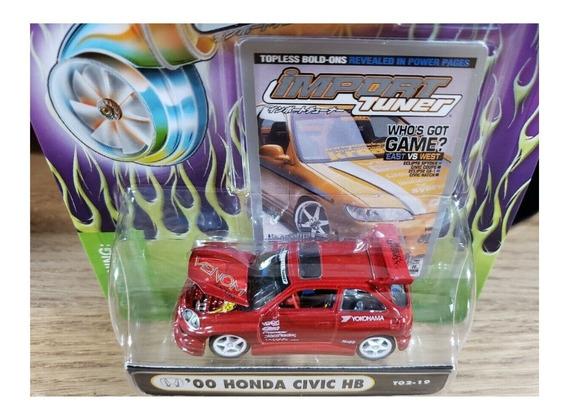 Muscle Machines 11 Honda Civic Hb Ruedas De Goma Solo Envios