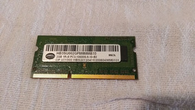 Memória Original Para Notebook Ddr3 2gb 10600s 1rx8 2gb Hbs