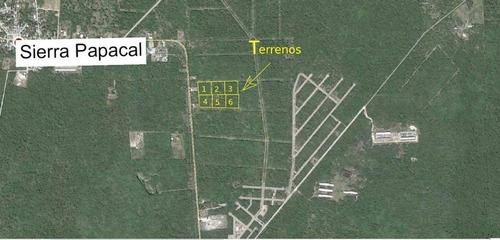 Imagen 1 de 8 de Terrenos En Venta En Sierra Papacal