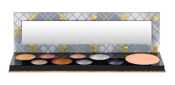 Paleta De Sombras + Iluminador Mac Girls / Qween Supreme