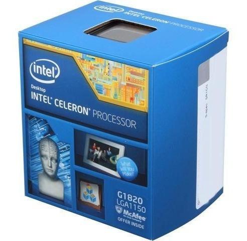 Box Processador Intel Celeron G1840 2.7ghz 2mb Lga 1150
