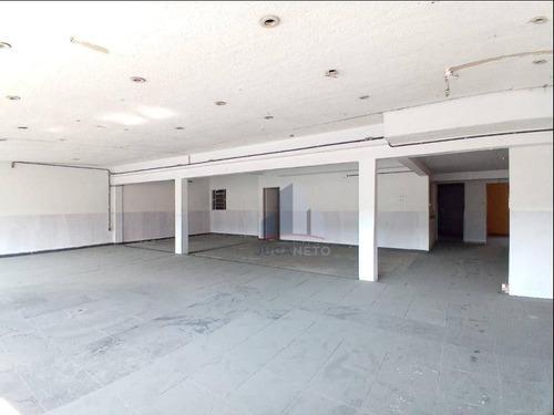 Salão Para Alugar, 190 M² Por R$ 2.500,00/mês - Jardim Zaira - Mauá/sp - Sl0128