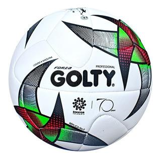 Balon Futbol Golty Forza 2019 Liga Aguila Fpc Recreativo N5