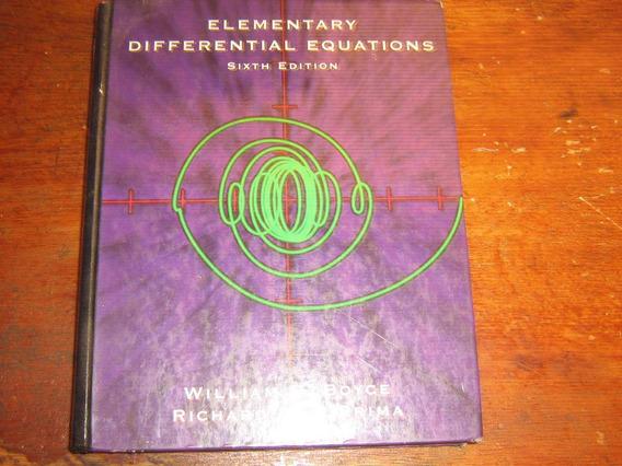 Equações Diferenciais Boyce Di Prima 6th Edition