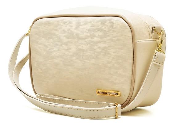 Bolsa Feminina Pequena Mini Bag Tira Colo Transversal Lanç V
