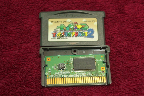 Super Mario Advance 2 Mario World Original Game Boy Advance