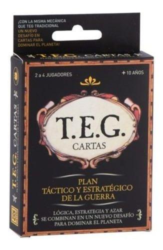 Juego Teg Cartas - Original Yetem