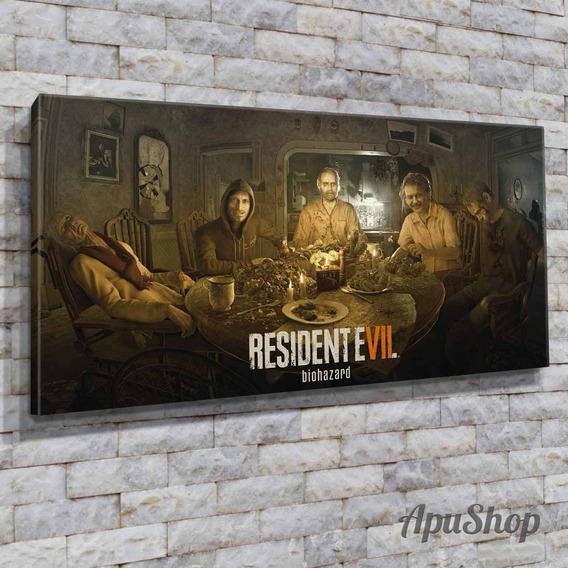 Cuadros 60x30 Resident Evil Biohazard Game Videojuego Y Más