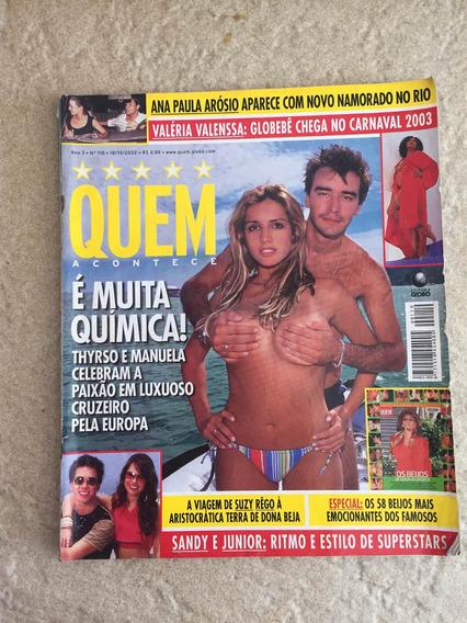 Revista Quem Sandy Júnior Eliana Angélica Denilson N°110