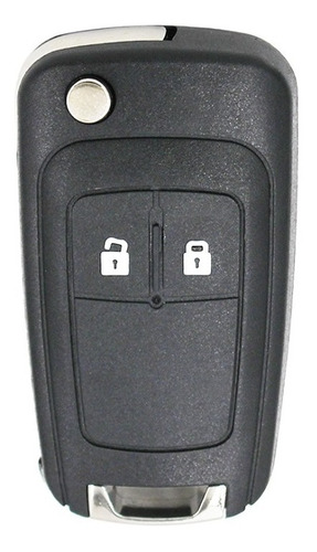 Llave Carcasa 2 Botones Chevrolet Cruze Tracker Sonic
