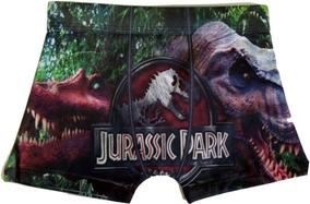 5 Cueca Infantil - Jurassic Park - Somos Fábrica