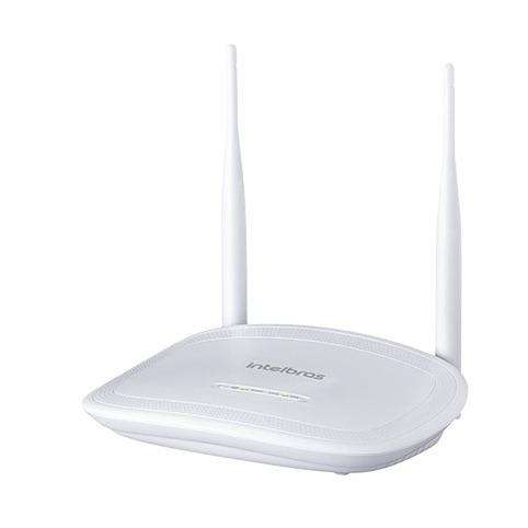 Roteador Wireless 2 Antenas 4 Lan Iwr 3000n Branco Intelbras