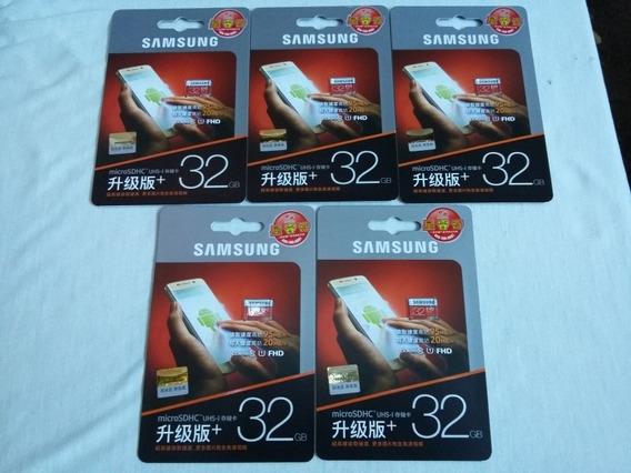 Cartão De Memória Samsung Evo 32gb (classe 10) Original