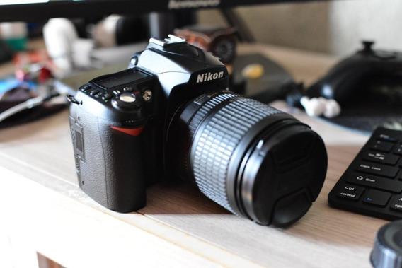 Nikon D90 + Lente 18-105/f4-5.6