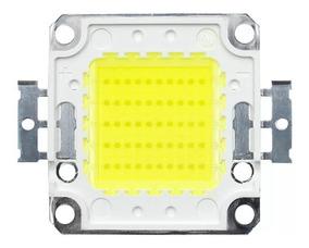 Kit10 Chip Led 50w Para Reposição De Refletor 50w 100w 150w