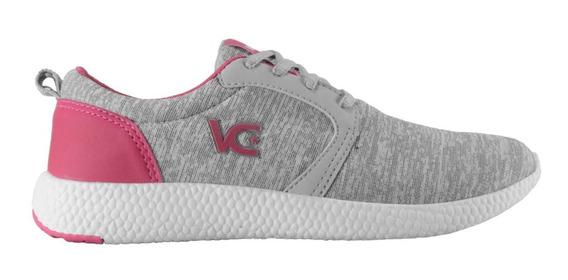 Tênis Feminino Vanscy Boost Cinza/pink
