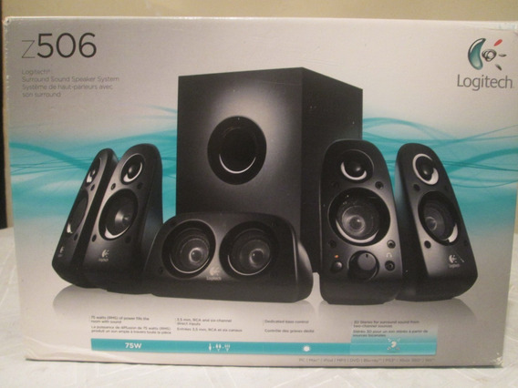 Cornetas Logitech Z506 (home Theater)