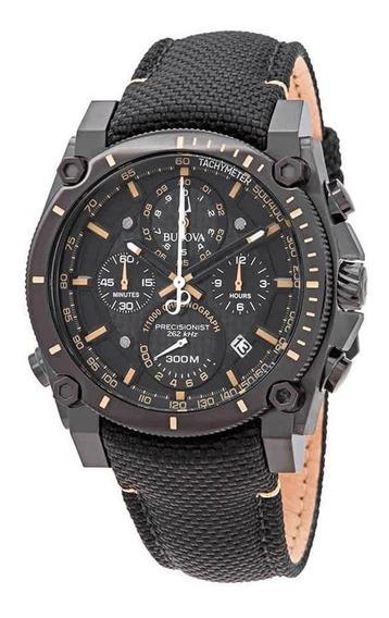 Relógio Bulova Precisionist 46mm 98b318 Na Caixa Original